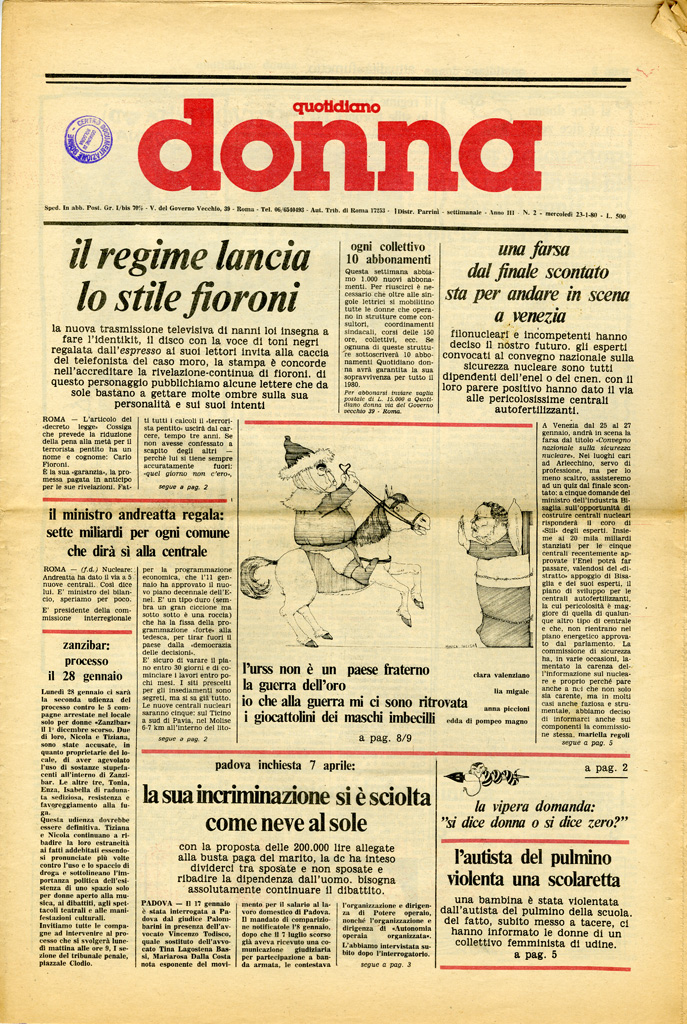 Quotidiano donna 1980, n. 2