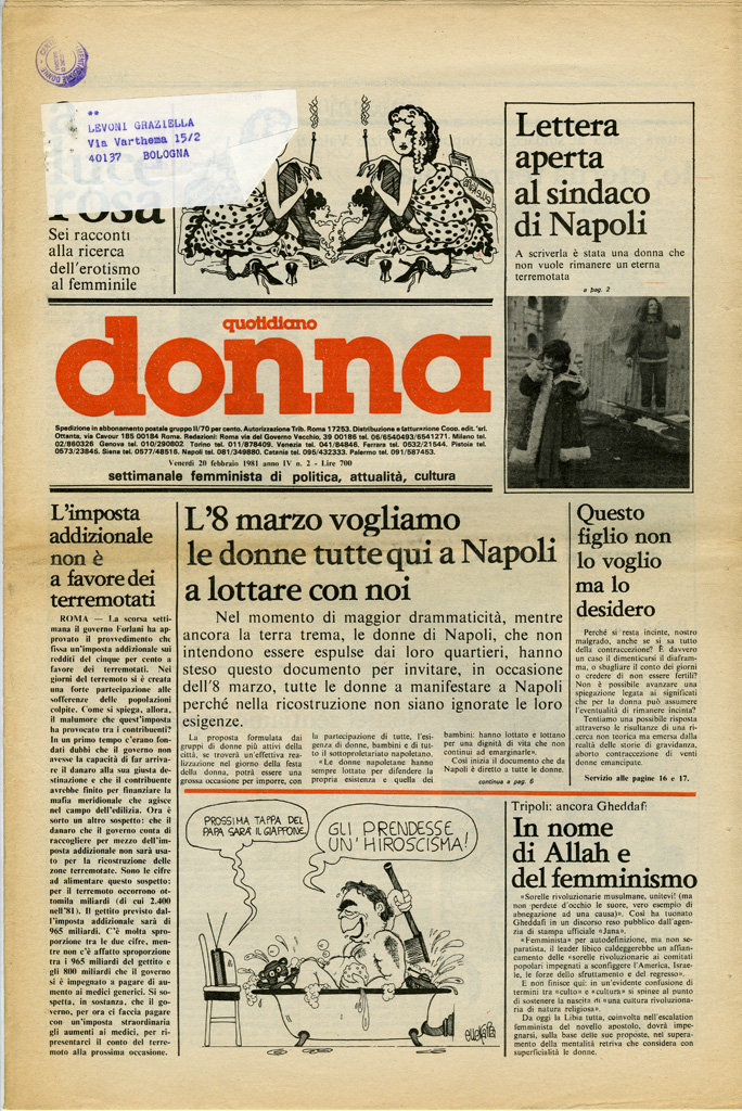 Quotidiano donna 1981, n. 2