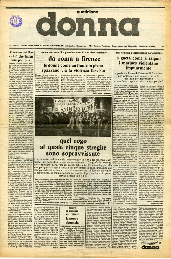 Quotidiano donna 1979, n. 3