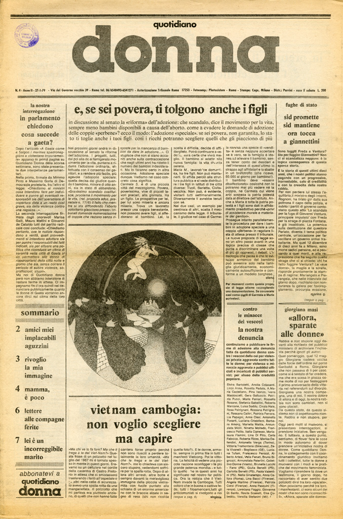 Quotidiano donna 1979, n. 4