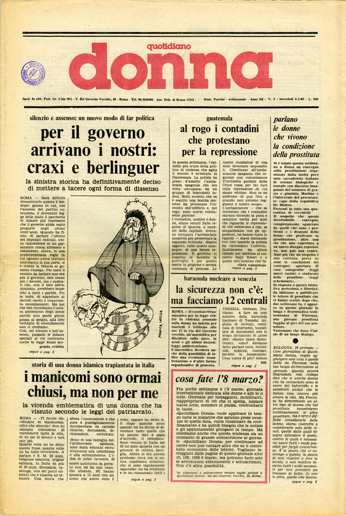 Quotidiano donna 1980, n. 4