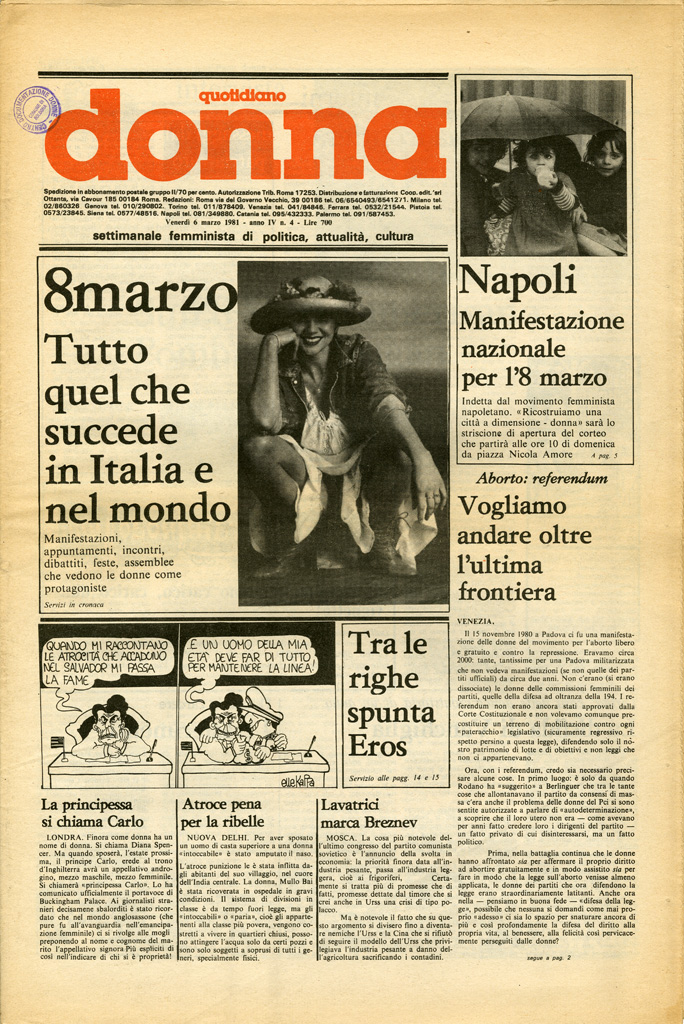 Quotidiano donna 1981, n. 4