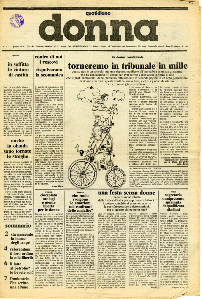 Quotidiano donna 1978, n. 5