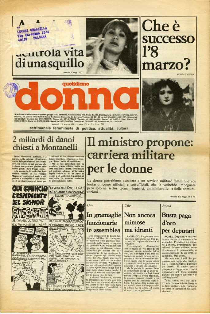 Quotidiano donna 1981, n. 5