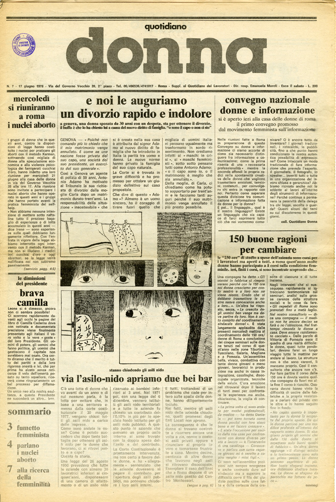 Quotidiano donna 1978, n. 7
