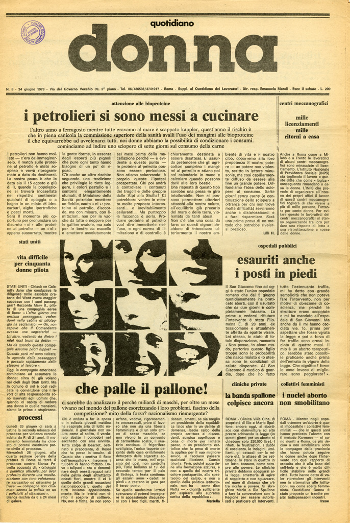 Quotidiano donna 1978, n. 8