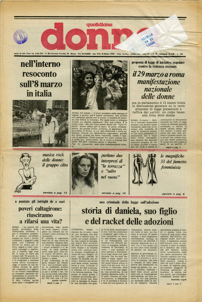 Quotidiano donna 1980, n. 8