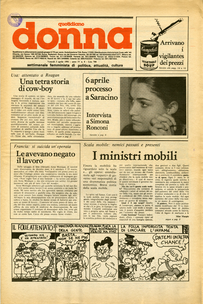 Quotidiano donna 1981, n. 8