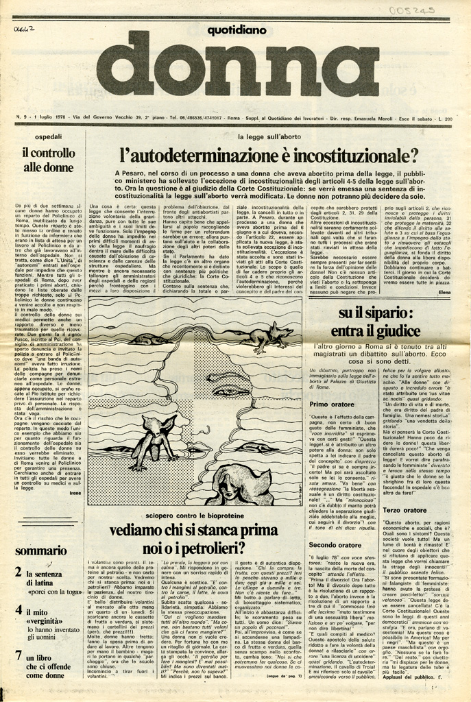 Quotidiano donna 1978, n. 9
