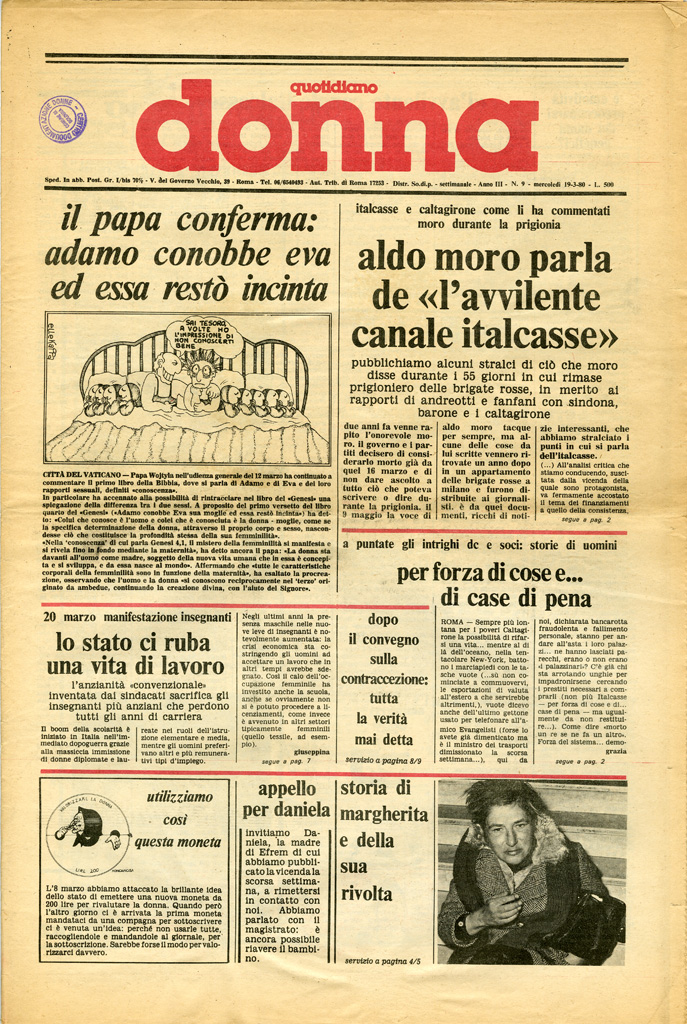 Quotidiano donna 1980, n. 9
