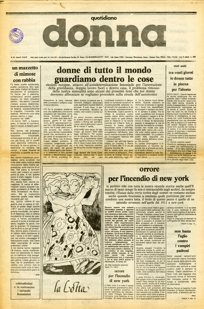 Quotidiano donna 1979, n. 10