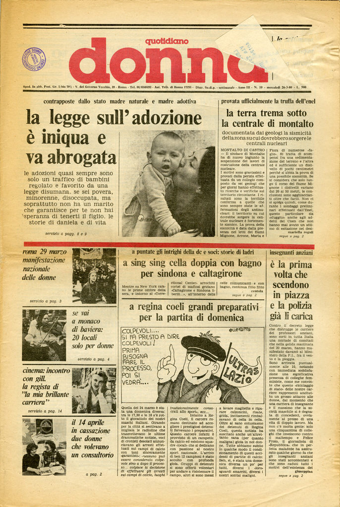 Quotidiano donna 1980, n. 10
