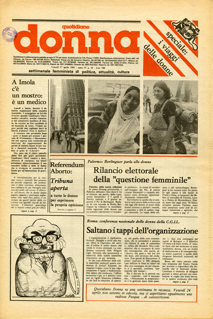 Quotidiano donna 1981, n. 10