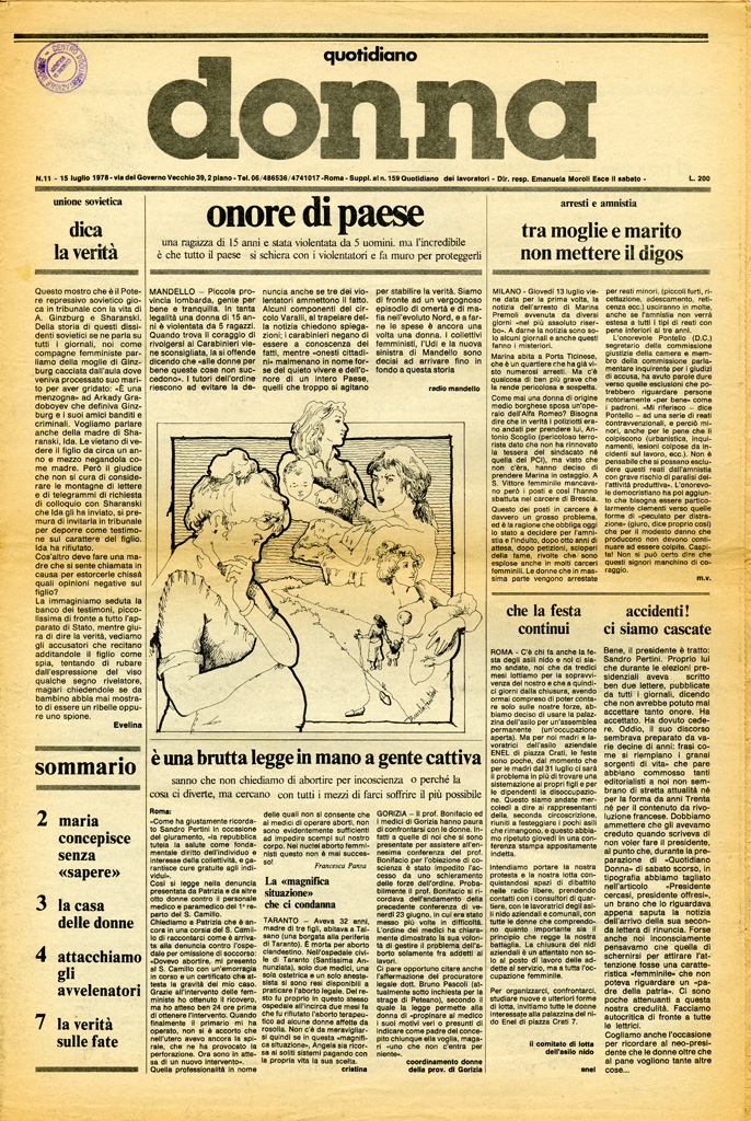 Quotidiano donna 1978, n. 11