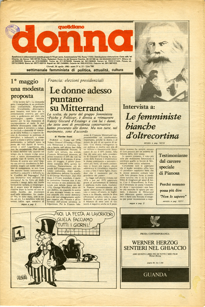 Quotidiano donna 1981, n. 11