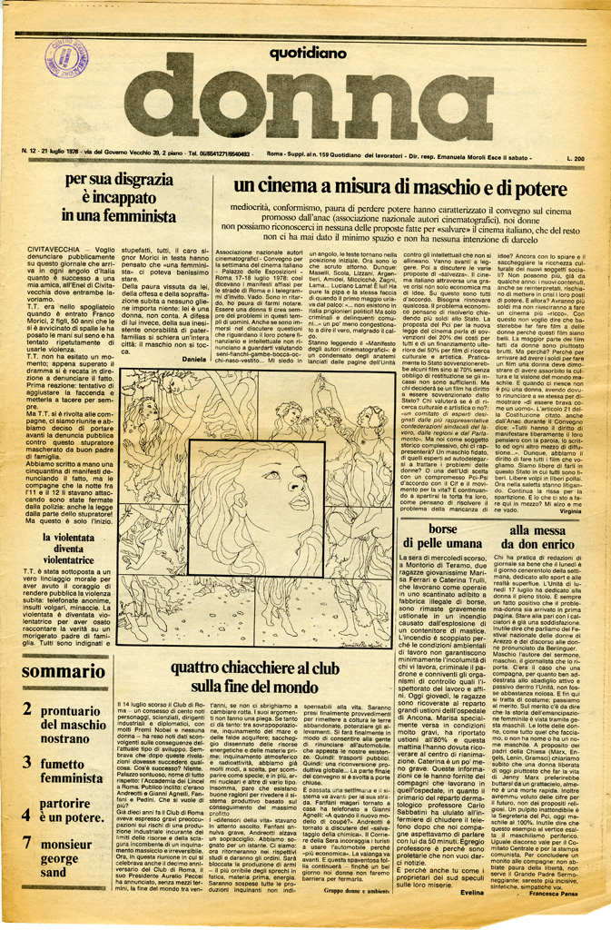 Quotidiano donna 1978, n. 12