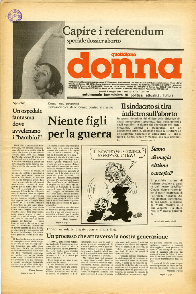Quotidiano donna 1981, n. 12