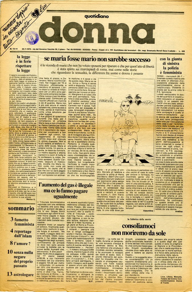 Quotidiano donna 1978, n. 13-14