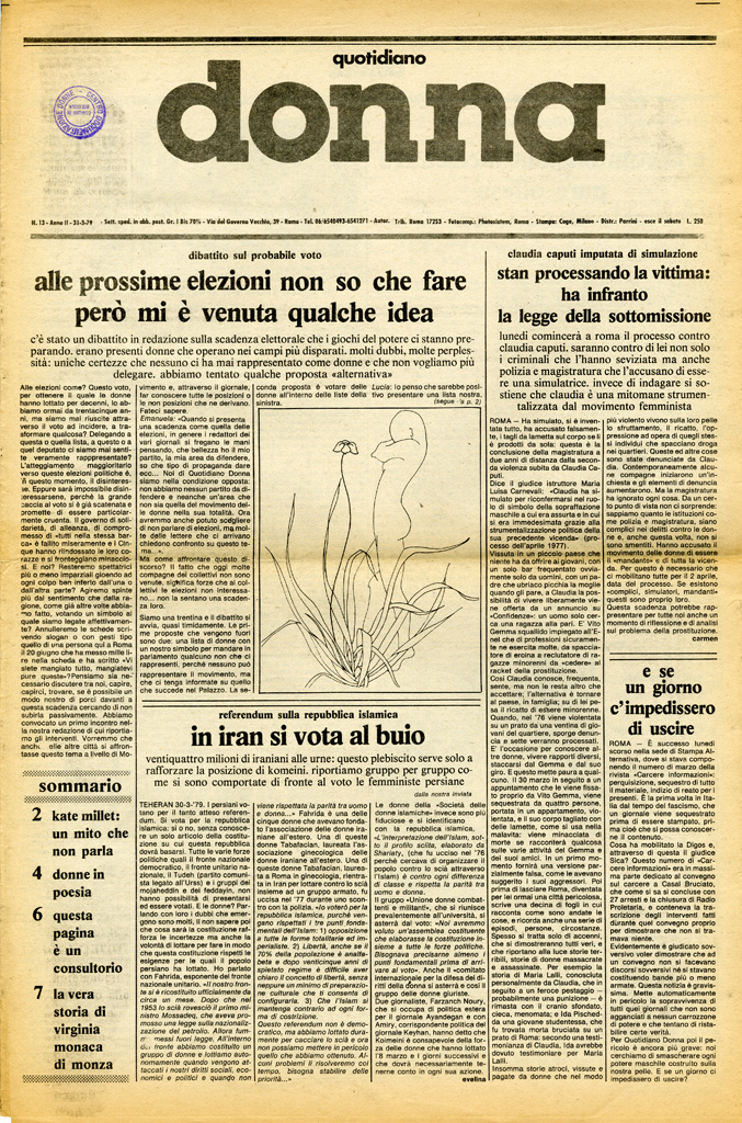 Quotidiano donna 1979, n. 13