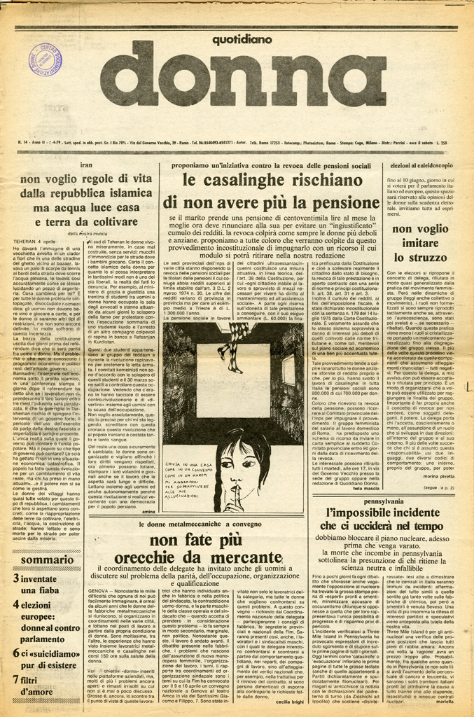 Quotidiano donna 1979, n. 14