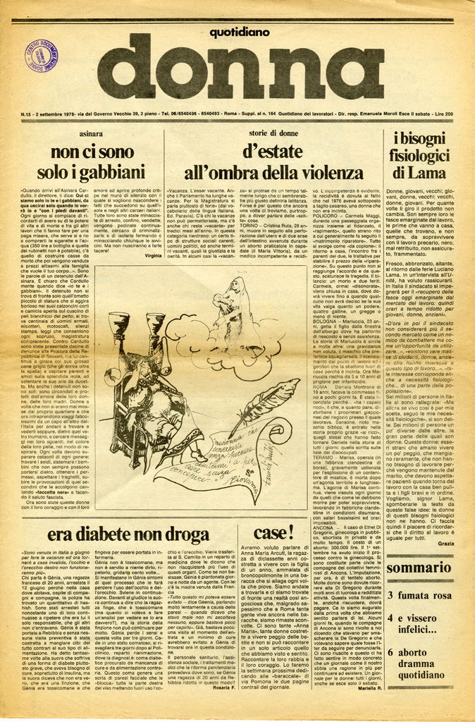 Quotidiano donna 1978, n. 15