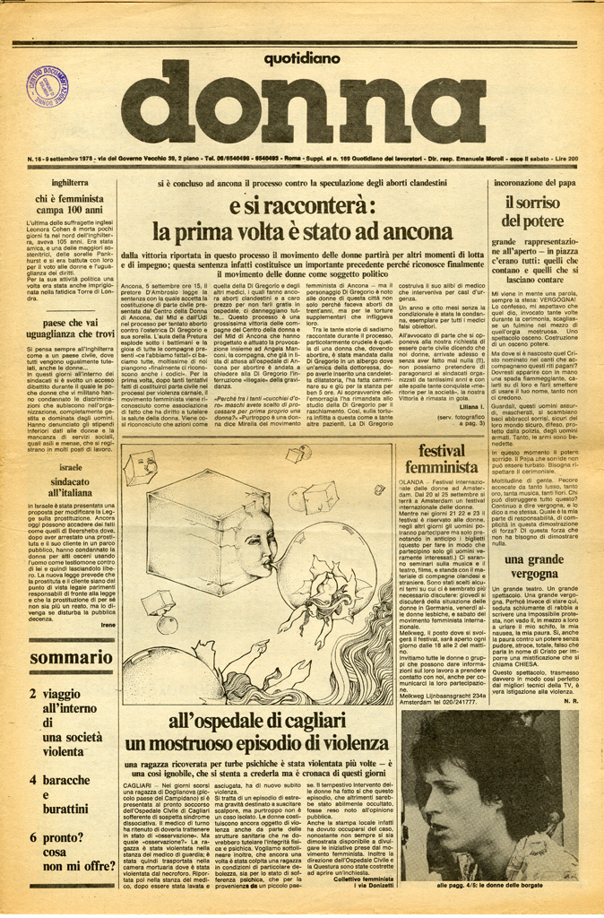 Quotidiano donna 1978, n. 16