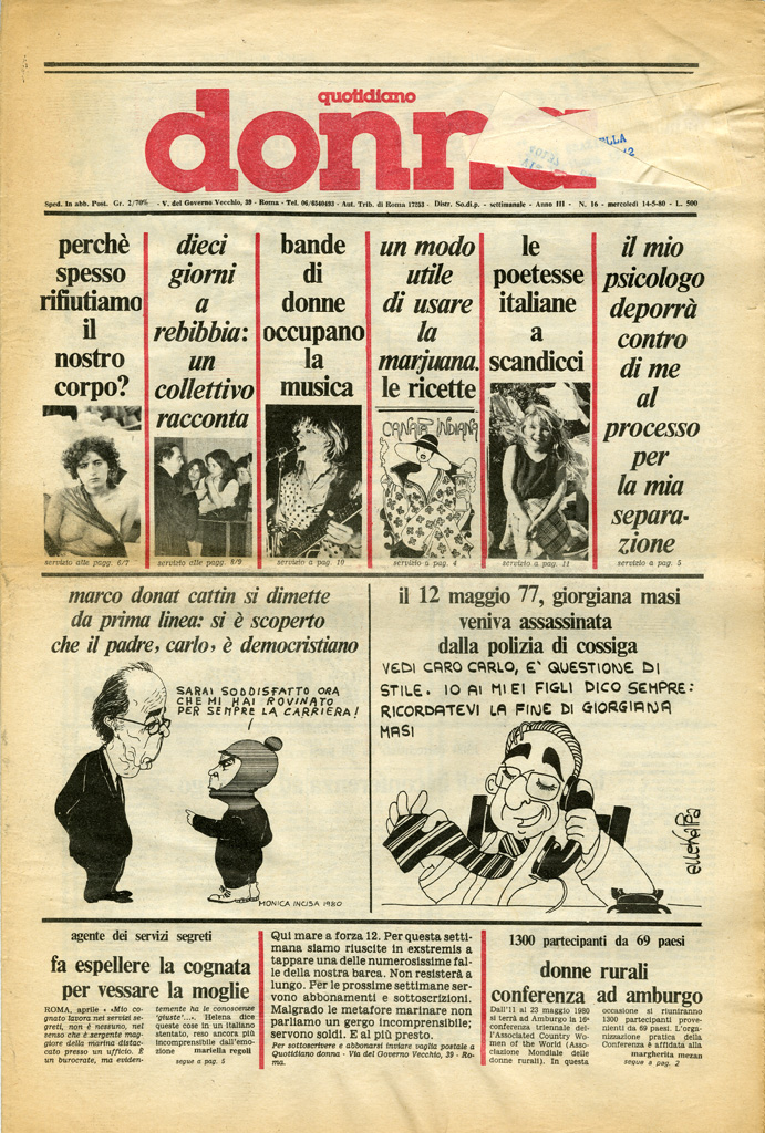 Quotidiano donna 1980, n. 16
