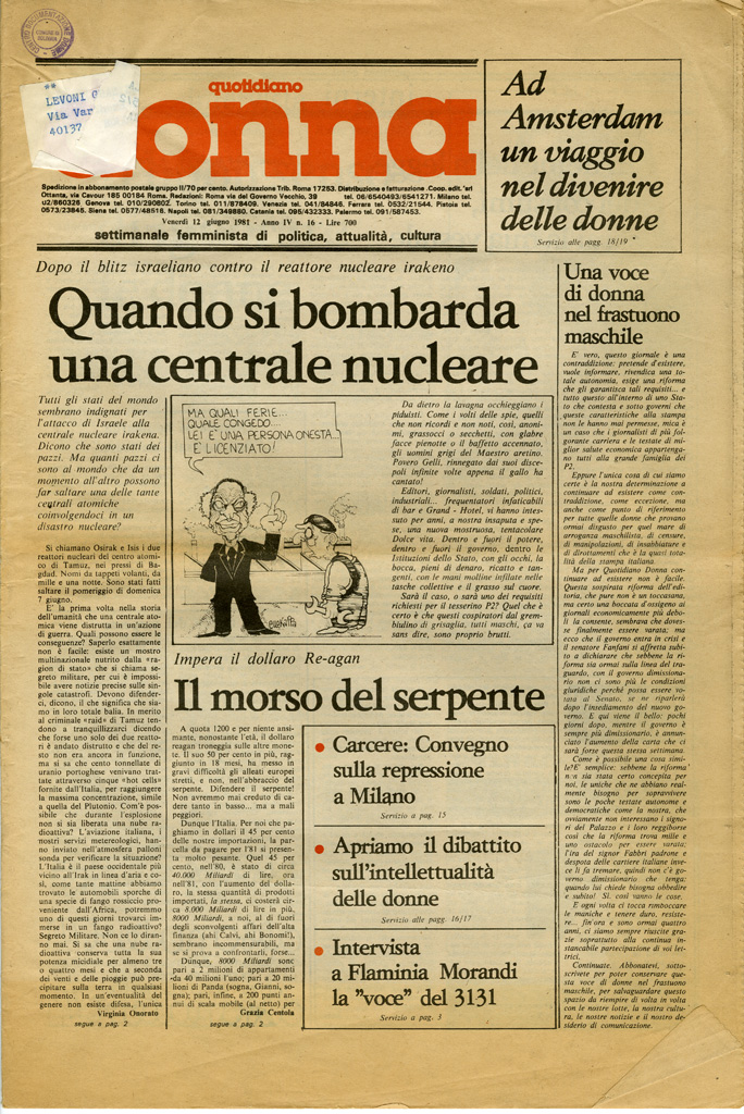 Quotidiano donna 1981, n. 16