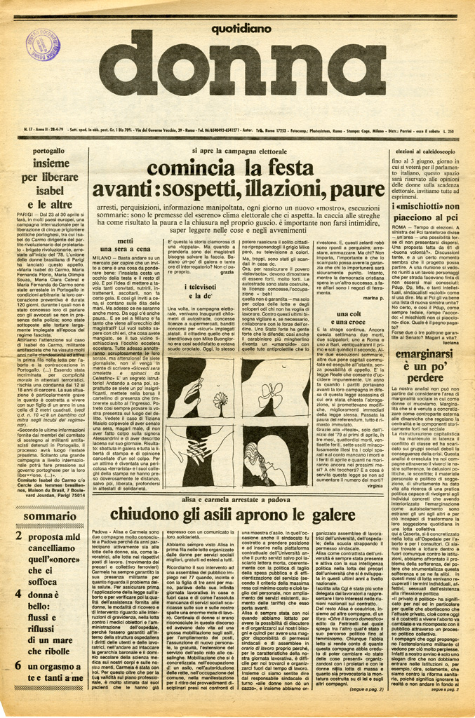 Quotidiano donna 1979, n. 17