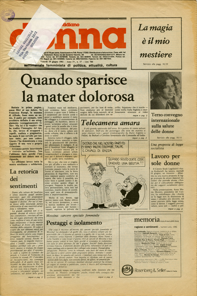 Quotidiano donna 1981, n. 17