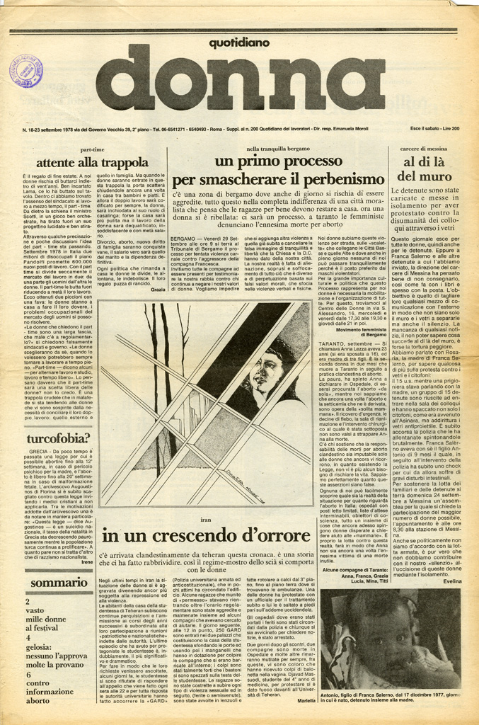 Quotidiano donna 1978, n. 18