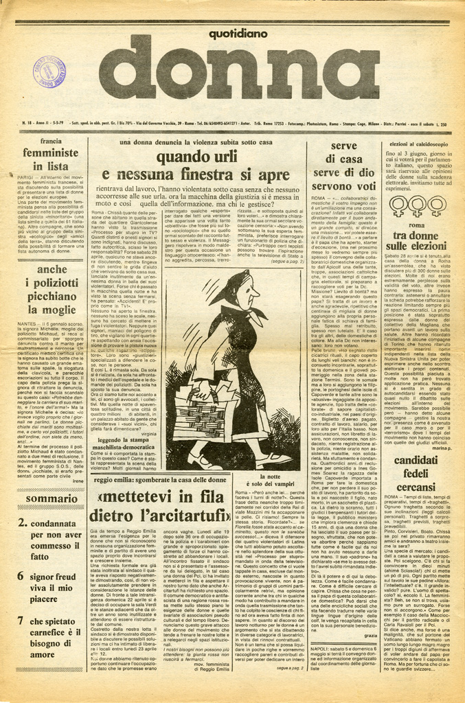 Quotidiano donna 1979, n. 18