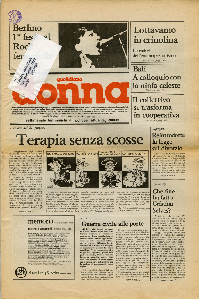 Quotidiano donna 1981, n. 18