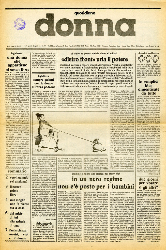 Quotidiano donna 1979, n. 19