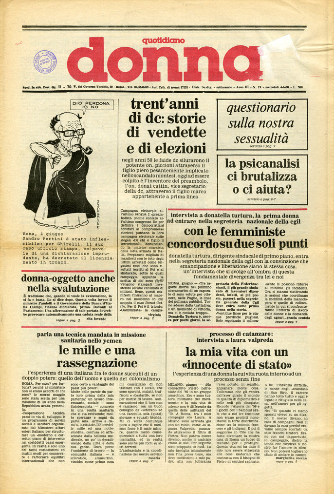 Quotidiano donna 1980, n. 19