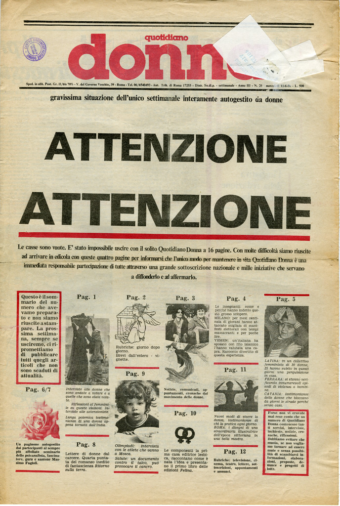 Quotidiano donna 1980, n. 20
