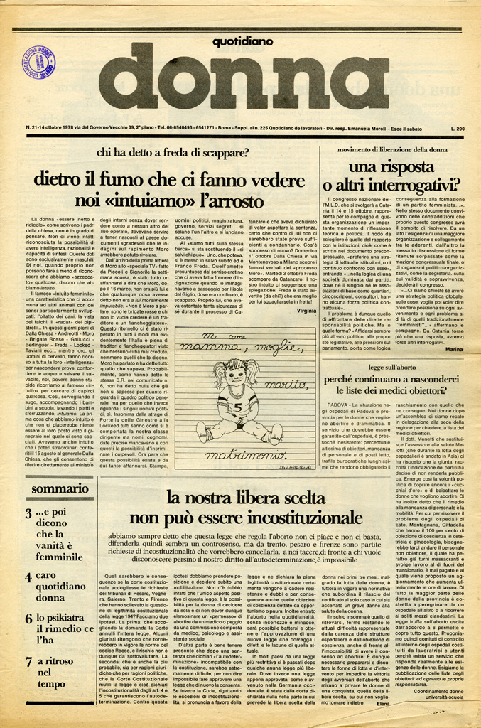 Quotidiano donna 1978, n. 21