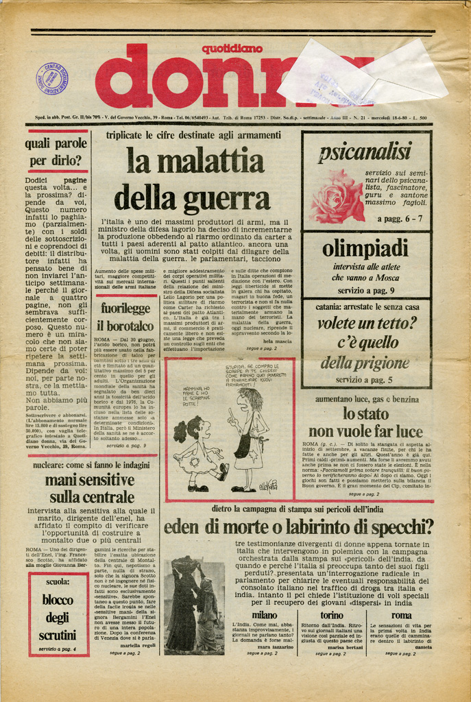 Quotidiano donna 1980, n. 21