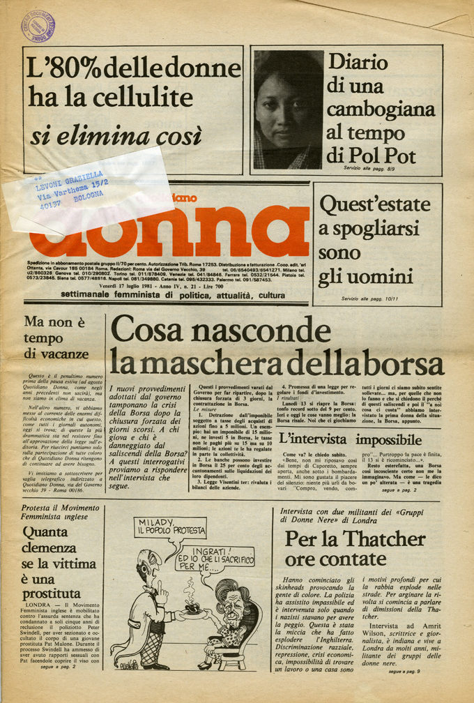 Quotidiano donna 1981, n. 21