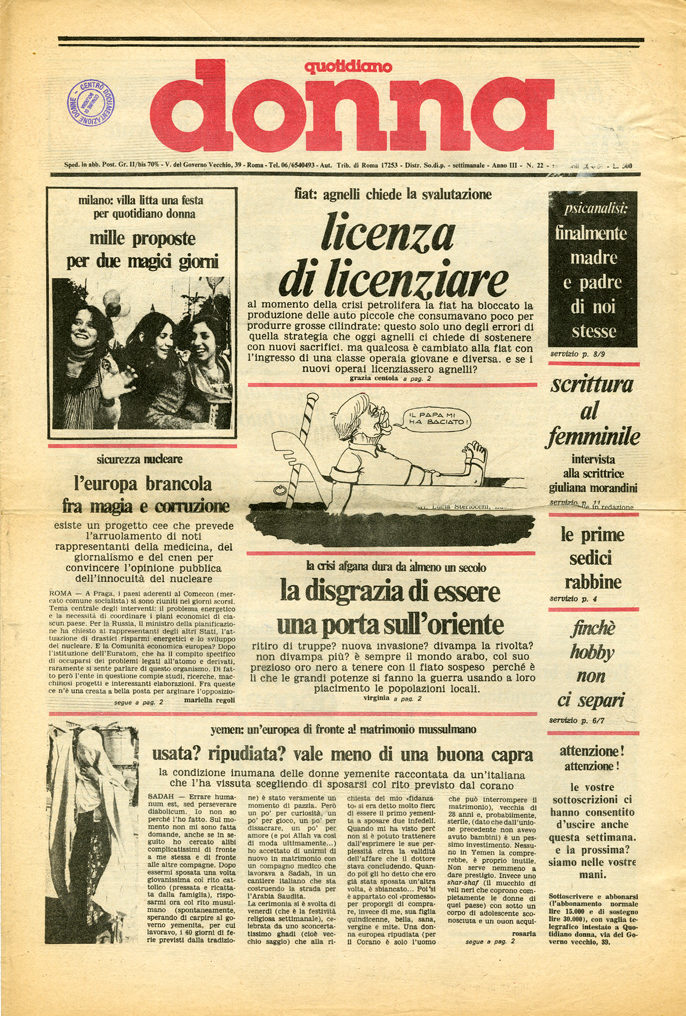 Quotidiano donna 1980, n. 22