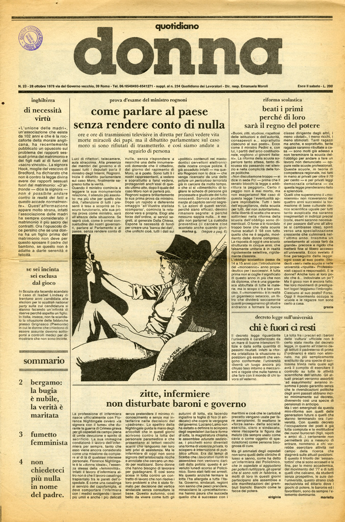 Quotidiano donna 1978, n. 23