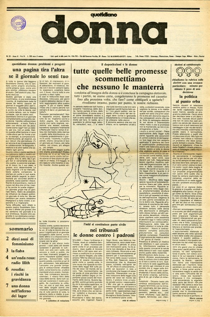 Quotidiano donna 1979, n. 23