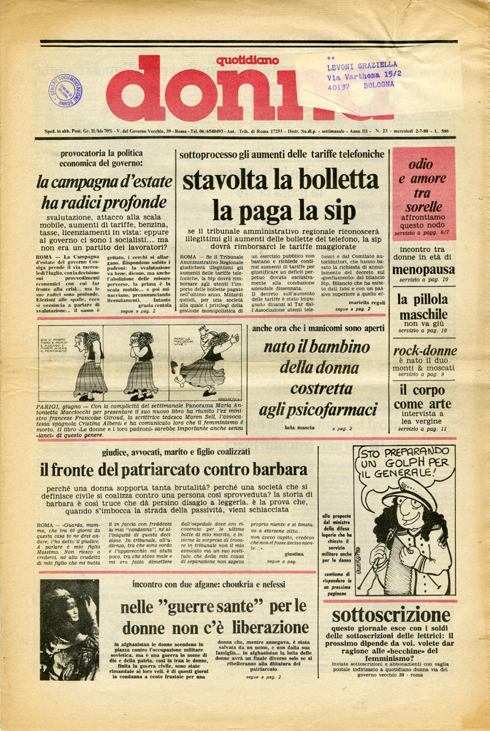 Quotidiano donna 1980, n. 23