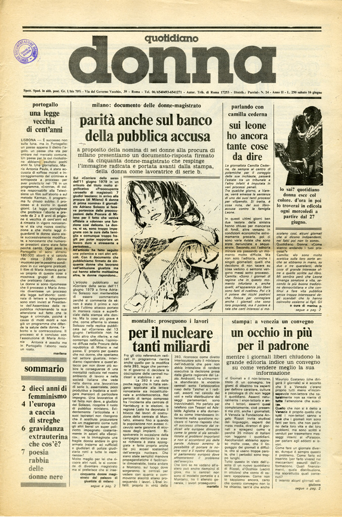 Quotidiano donna 1979, n. 24