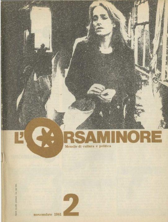 L'Orsaminore. Mensile di cultura e politica 1981, n. 2