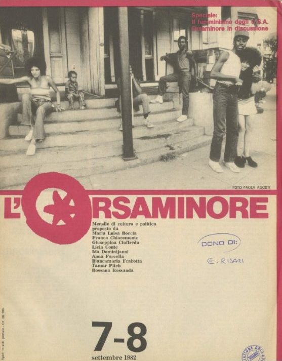 L'Orsaminore. Mensile di cultura e politica 1982, n. 7-8