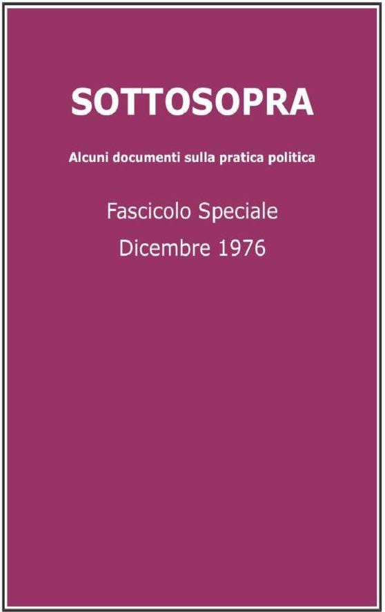 Sottosopra 1976, n. 5